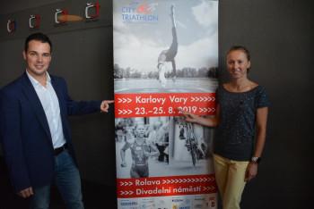 Karlovy Vary ovládne po tři dny od 23. do 25. srpna 2019  světový triatlon!