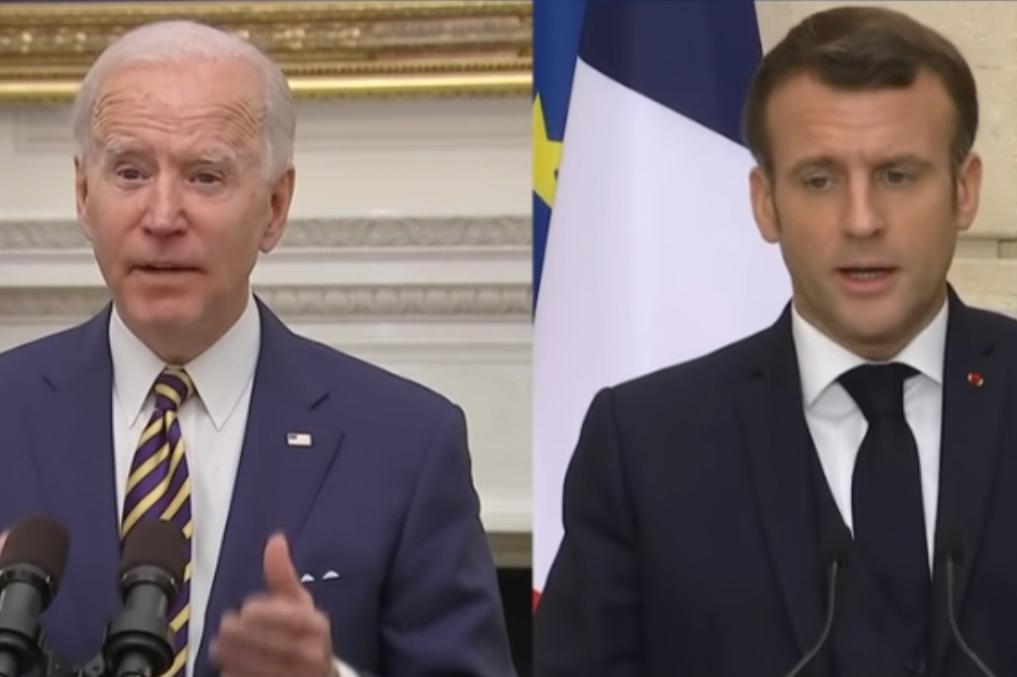 L'Opinion: Macrona využije Biden proti Merkelové