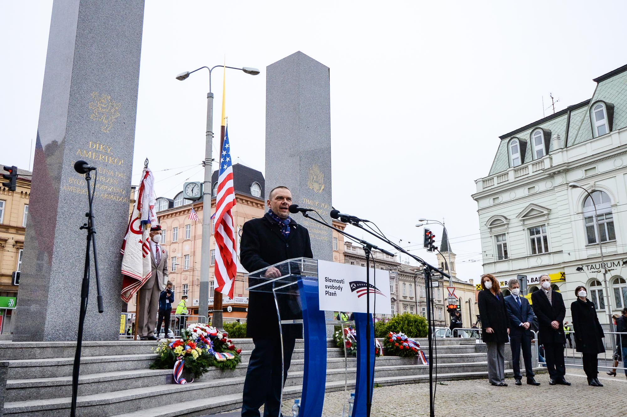Plzeň oslavila své osvobození americkou armádou hlavně on-line