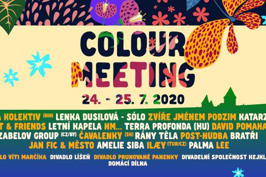 Festival Colour Meeting zve do Poličky na hudbu i divadlo