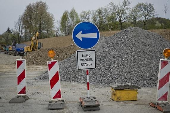 Oprava dálničního sjezdu přinese dopravní omezení